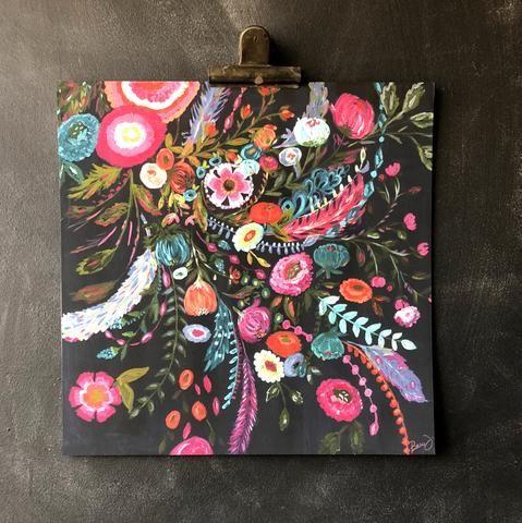 Microburst Art Print
