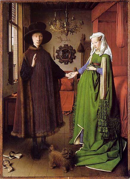 The Arnolfini Marriage- Jan Van Eyck (1434)