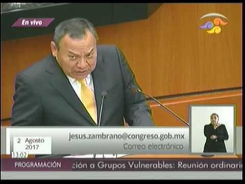 Dip. Jesús Zambrano (PRD) - Iniciativa
