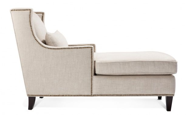 Coco Republic Toulouse Curved Arm Chaise