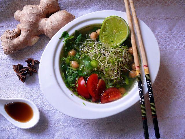 Vöröskaktusz diétázik: Vegán pho