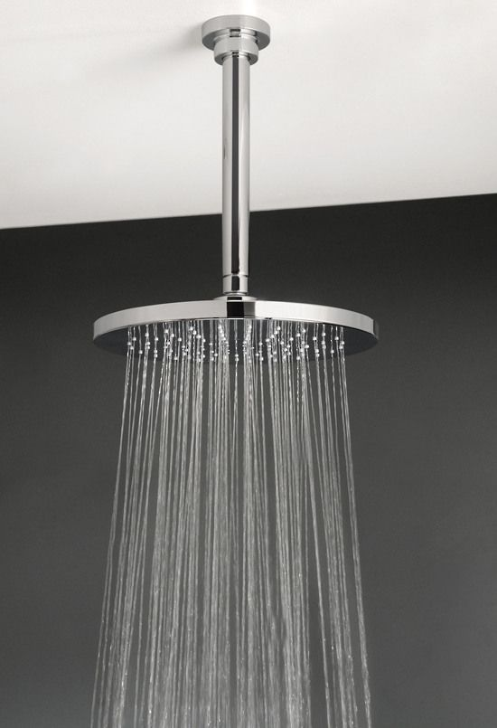 wall mount rain shower head xera wall and ceiling mounted bathroom rain shower head