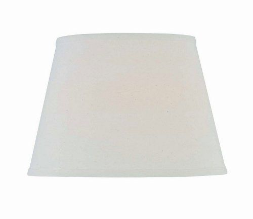 Lite Source CH1187-13 13-Inch Lamp Shade, Off-White by Lite Source. $23.00. Lite Source Lamp Shade, Off-White, 13-Inch. Linen material. Shade Size: 9-Inch T by 13-Inch B by 9-Inch SL. Off-white color. Lite-Source, Inc. specializes in creating lighting products that can be used in any home. Their products include a range of kids products to chandeliers to task specialty lights, all the while providing an excellent value. The Lite-Source, Inc. catalog is one of the most ex...