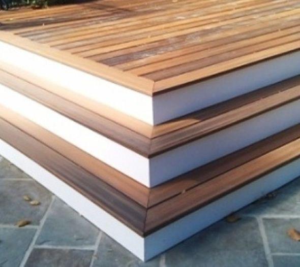 Best Ipe Deck Stairs Bluestone Deck Stairs White Stair 400 x 300