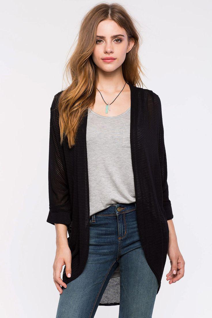 Кардиган Размеры: S, M, L Цвет: черный, кремовый, темно-синий Цена: 1258 руб.     #одежда #женщинам #кардиганы #коопт