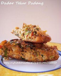 my kitchen notes: Dadar Telur Padang