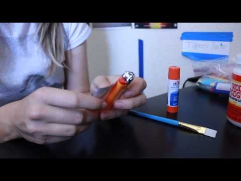 How To Make Custom Bic Lighter - DIY Tutorial - YouTube