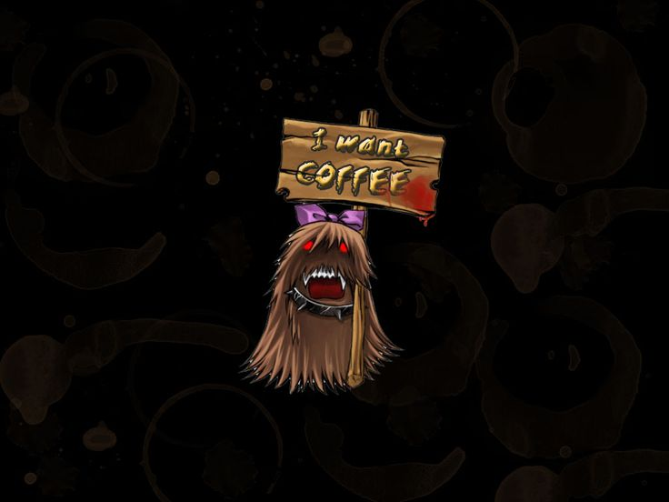 Want coffee wallpaper