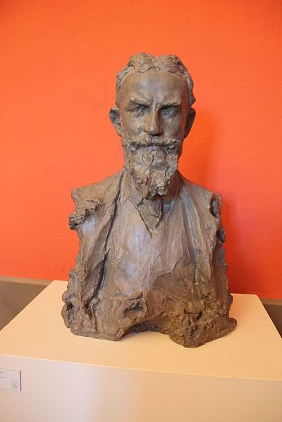 Paolo Troubetzkoy (1866-1938). George Bernard Shaw. Verbania-Pallanza, Italy.