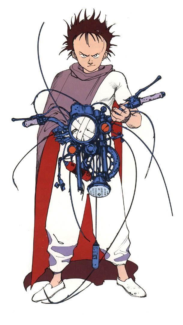 Akira - Tetsuo by Katsuhiro Otomo * https://www.facebook.com/CharacterDesignReferences
