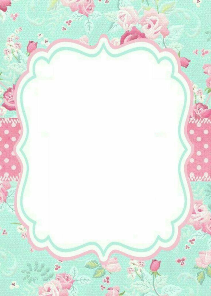 Pin De Gaijingal Sakura En Frames Invitaciones De Bautizo