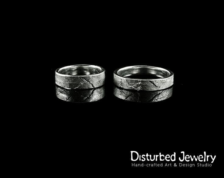 Custom Wedding Rings - 14K White Gold - Made for a lifetime!