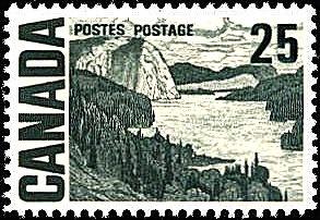 Canada 1967. Group of Seven. Realism/Naturalism. J.E.H. McDonald. The Solemn Land.