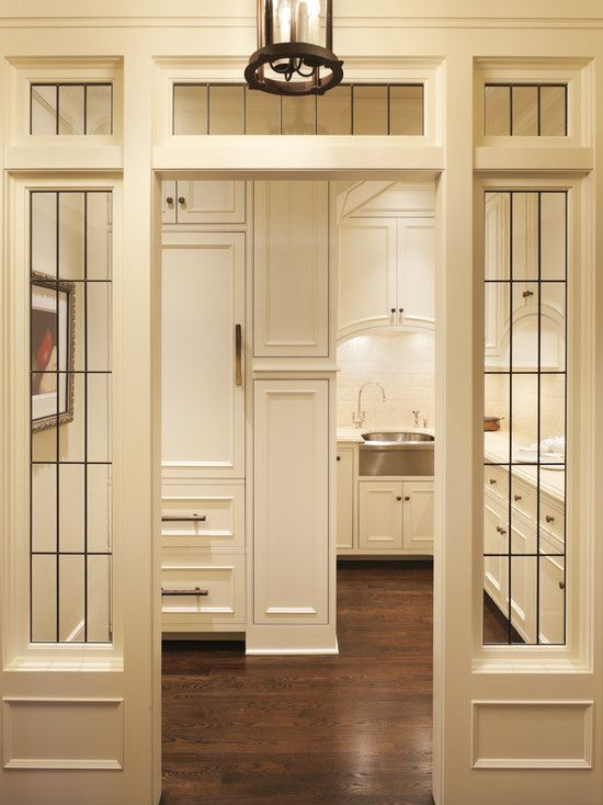 Butlers Pantry With Windows