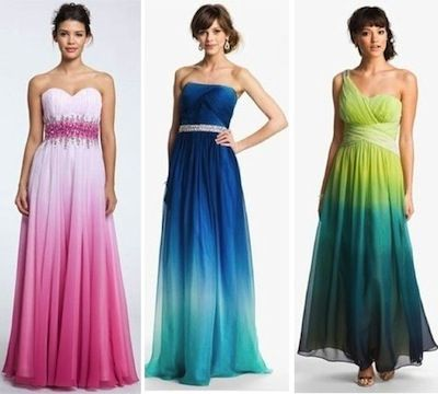 nordstrom prom dress 2013 ombre - Google Search