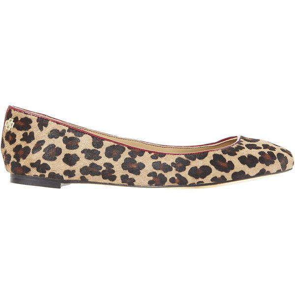 Ann Taylor Leiah Leopard Print Haircalf Ballet Flats (105 AUD) ❤ liked on Polyvore featuring shoes, flats, classic camel, ballet pumps, ballet flats, leopard flats, leopard shoes and leopard print ballet flats