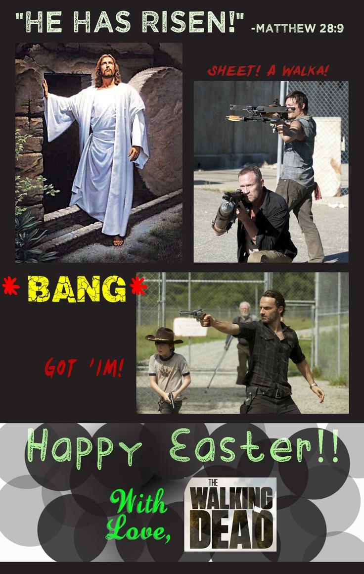 85afac1e06e3044f2e8d808b88cf95d5 happy easter walking dead zombies 269 best zombies walking dead images on pinterest the walking,Happy Birthday Easter Meme