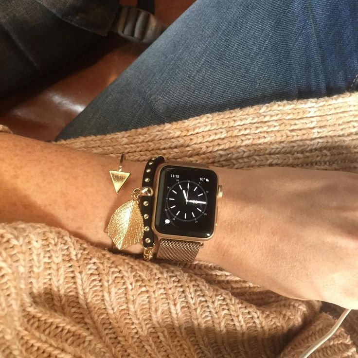 Autumn Gold Apple Watch Fashion