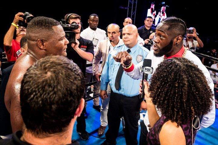 Luis Ortiz Vows Pain: I'll Tear The Skin Off Deontay Wilder's Body! #allthebelts #boxing