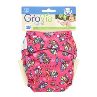 GroVia AI2 Snap Hybrid Cloth Diaper. Love this peacock print! @DiaperShops: Grovia Shells, Kids Stuff, Diapers Shells, Grovia Hybrid, Grovia Peacock, Clothing Diapersth, Grovia Ai2, Ai2 Snap, Crunch Mother