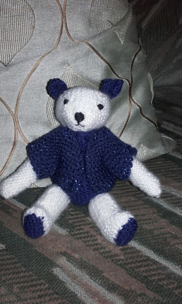 My second knitted bear