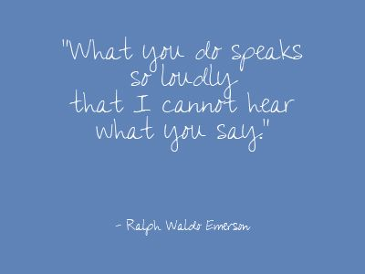 `Remember This, Public Speaking Quotes, People Believe What They Hear, So True, Speak Louder, Ralph Waldo Emerson, Favorite Quotes, Actions Words, Action Speak