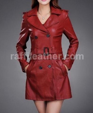 Jaket Kulit Blazer Wanita » RWB 045 • www.raffileather.com Jual Jaket Kulit Asli Garut Murah & Berkualitas  #jaketkulit