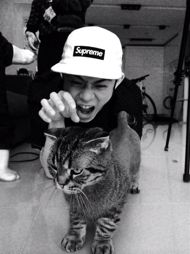 beenzino // with kitty omfg rawr (=`ω´=)