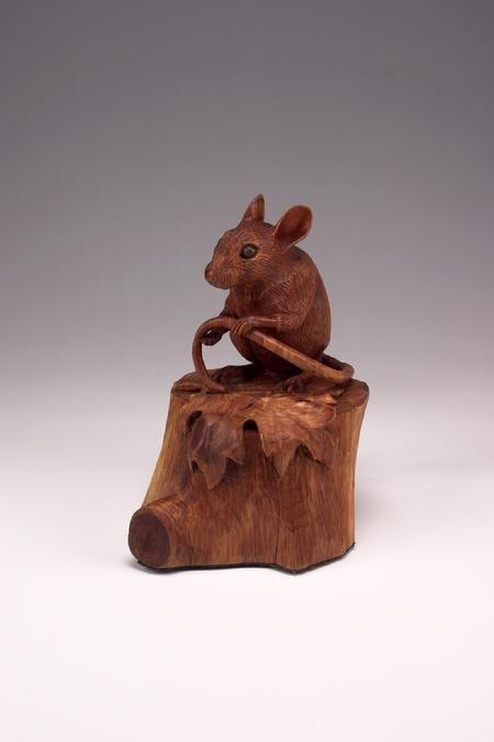 Wildlife Art - Sculptures in Wood