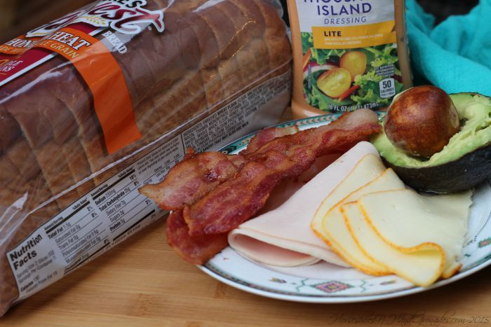 Get Creative With Nature's Harvest {Chicken, Bacon, Avacado, on Honey Wheat}