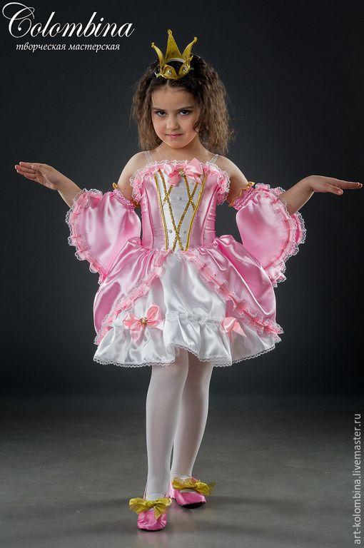 Купить карнавальный костюм принцессы - розовый, костюм принцессы, принцесса, карнавальные костюмы, маскарадные костюмы
