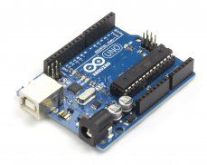 Arduino UNO Rev3 ---- HEY HEY!!!  For more COOL ARDUINO stuff, check out http://arduinohq.com