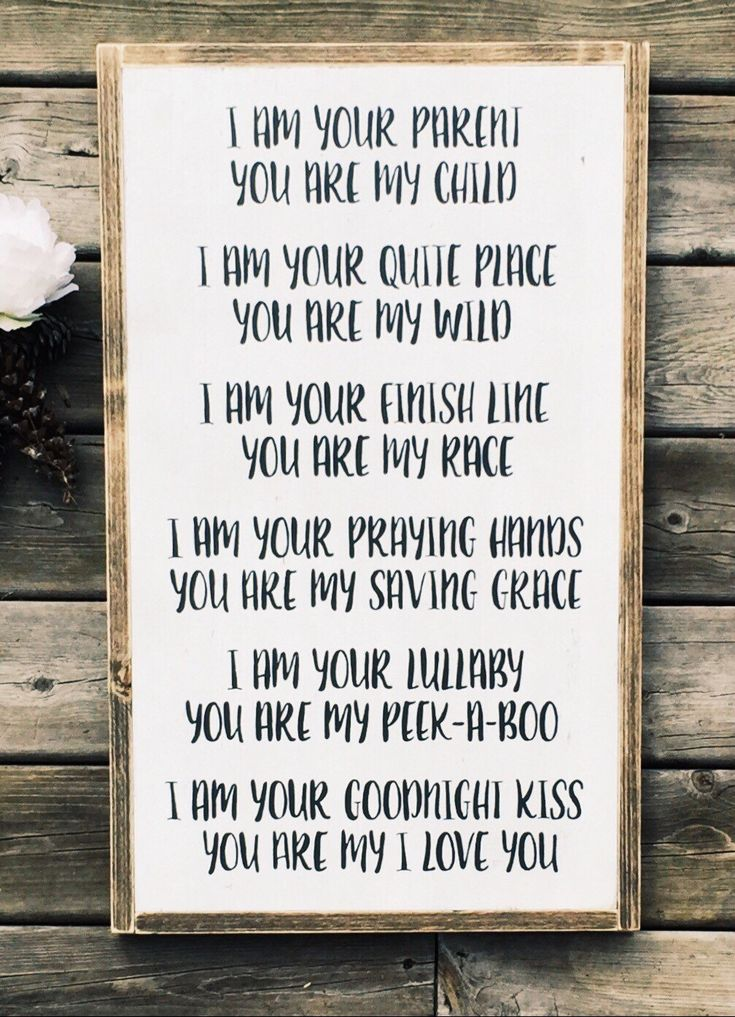 I am your parent you are my child framed wood sign/Childrens bedroom decor/Nursery decor/Rustic home decor by WoodandWhimsyDesigns on Etsy https://www.etsy.com/listing/287066547/i-am-your-parent-you-are-my-child-framed
