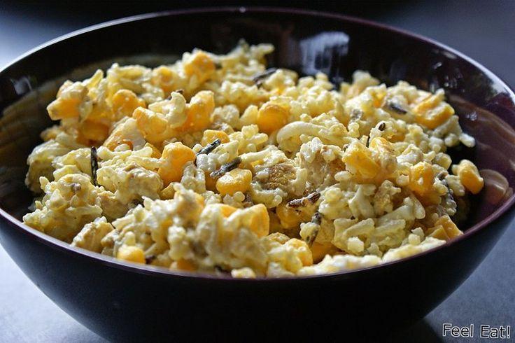 Dietetyczna sałatka z kurczakiem / diet rice salad with chicken