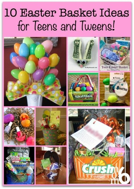 13 best event easter images on pinterest carrots easter bunny 10 easter basket ideas for teens and tweens negle Image collections