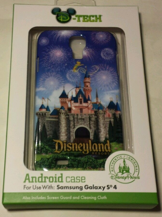 WALT DISNEY THEME PARK Samsung Galaxy S4 Android Case Screen Guard Cleaning set  #DTech