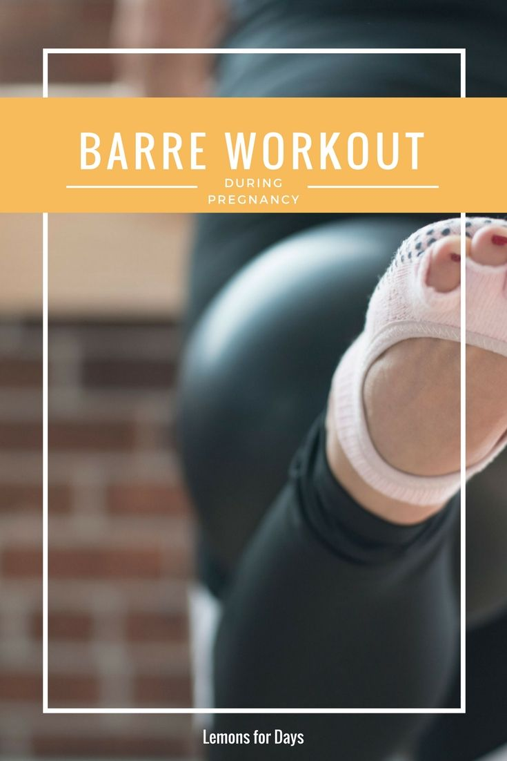 Looking for an amazing workout during pregnancy? Try barre class! Here are some tips and modifications for doing barre classes while pregnant.