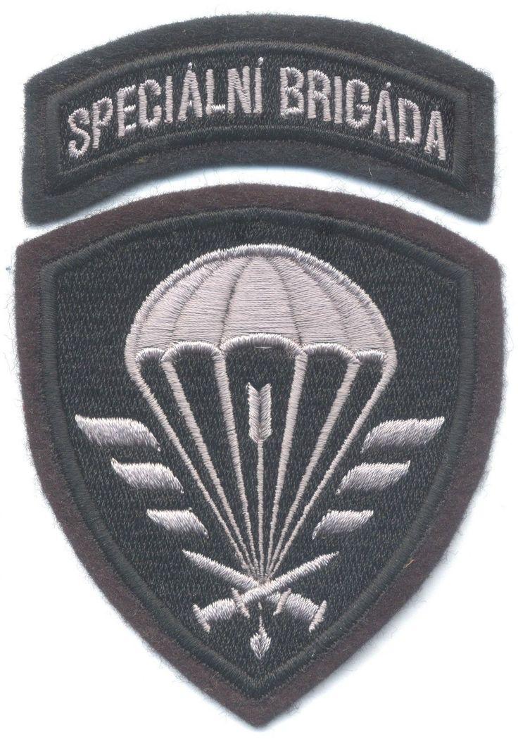 CZECH REPUBLIC 6th Special Brigade patch, Airborne Special Forces parachute para