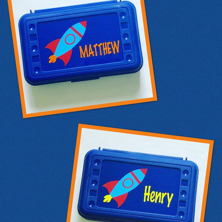 3....2....1....Henry and Matthew are ready to blast off into the 2017-2018 school year with their new Rocket Pencil Boxes. Are you interested in a custom pencil box for your child as they start school this fall?  Visit us at www.MamaBforMe.etsy.com today!