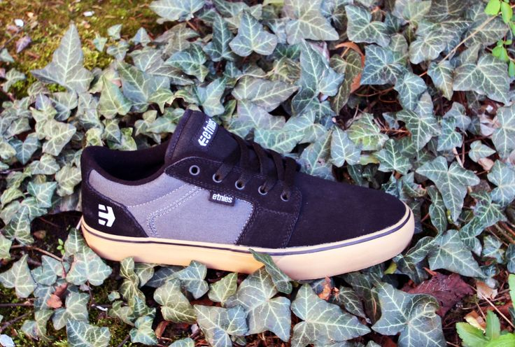 Etnies Shoes, Etnies skate shoes, Etnies Barge LA black/Dark Grey/Gum