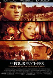 """THE FOUR FEATHERS starring Heath Ledger, Kate Hudson, Wes Bentley, Djimon Hounsou, and many more. In my opinion, the best movie Heath Ledger ever made!!!! Powerful acting by multiple people in this film. Love Djimon Hounsou's character.....    HL: """"Why are you protecting me?""""   DH: """"God put you in my way. I have no choice.""""   Great movie!!!"""