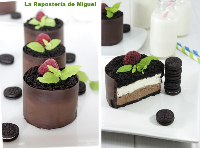 La Repostería de Miguel: Mini-Tartas de Chocolate y Mascarpone (translator on side)