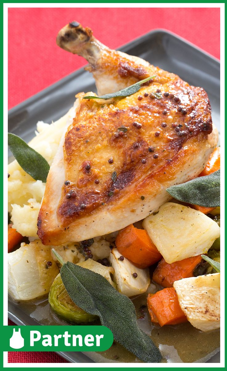 Blue apron quick pickles - Chicken Charlemagne With Roasted Root Vegetables Parsnip Potato Mash