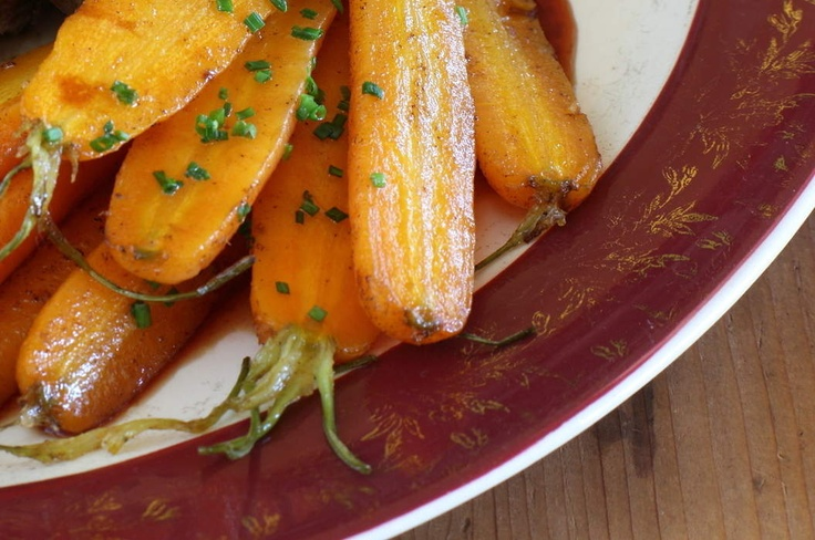 Maggie Beer's verjuice carrots