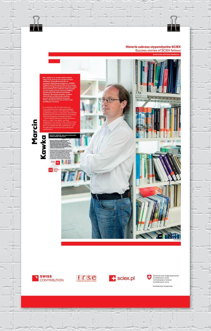 Marcin Kawka, stypendysta SCIEX/ SCIEX fellow