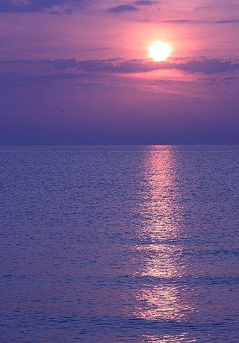 sunrise over the Black Sea, Kustenje, Constanta, Romania