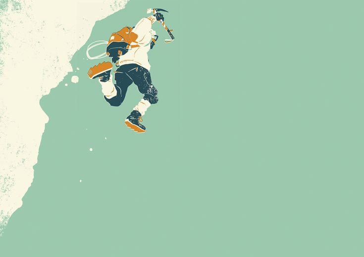 mountaineer - Matt Taylor Illustration