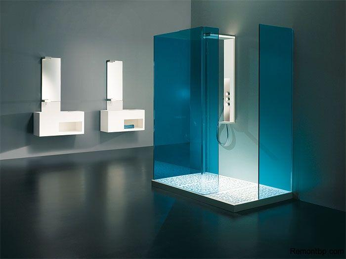 Интересные идеи оформления ванной комнаты. Стили интерьера для ванной. Советы по декору и обустройству. Освещение, меблировка и дизайн ванной комнаты на фото.