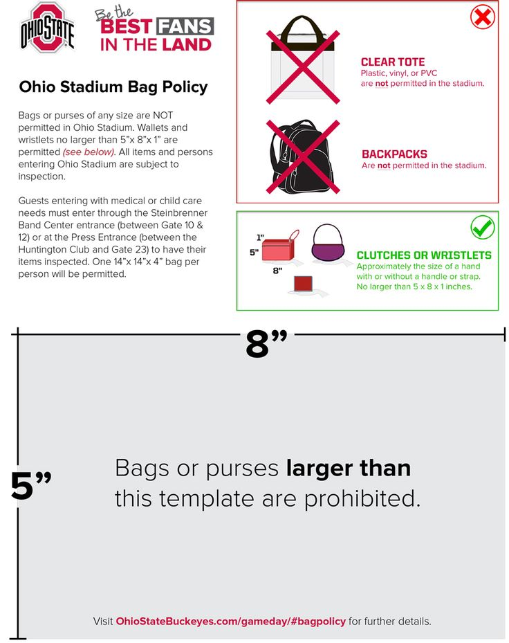 OhioStateBuckeyes.com Ohio Stadium Policy Changes Announced :: The Ohio State University Official Athletic Site