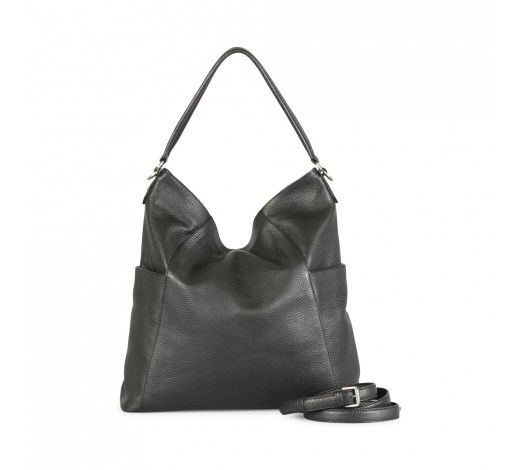 Evita Bag in black leather // Markberg